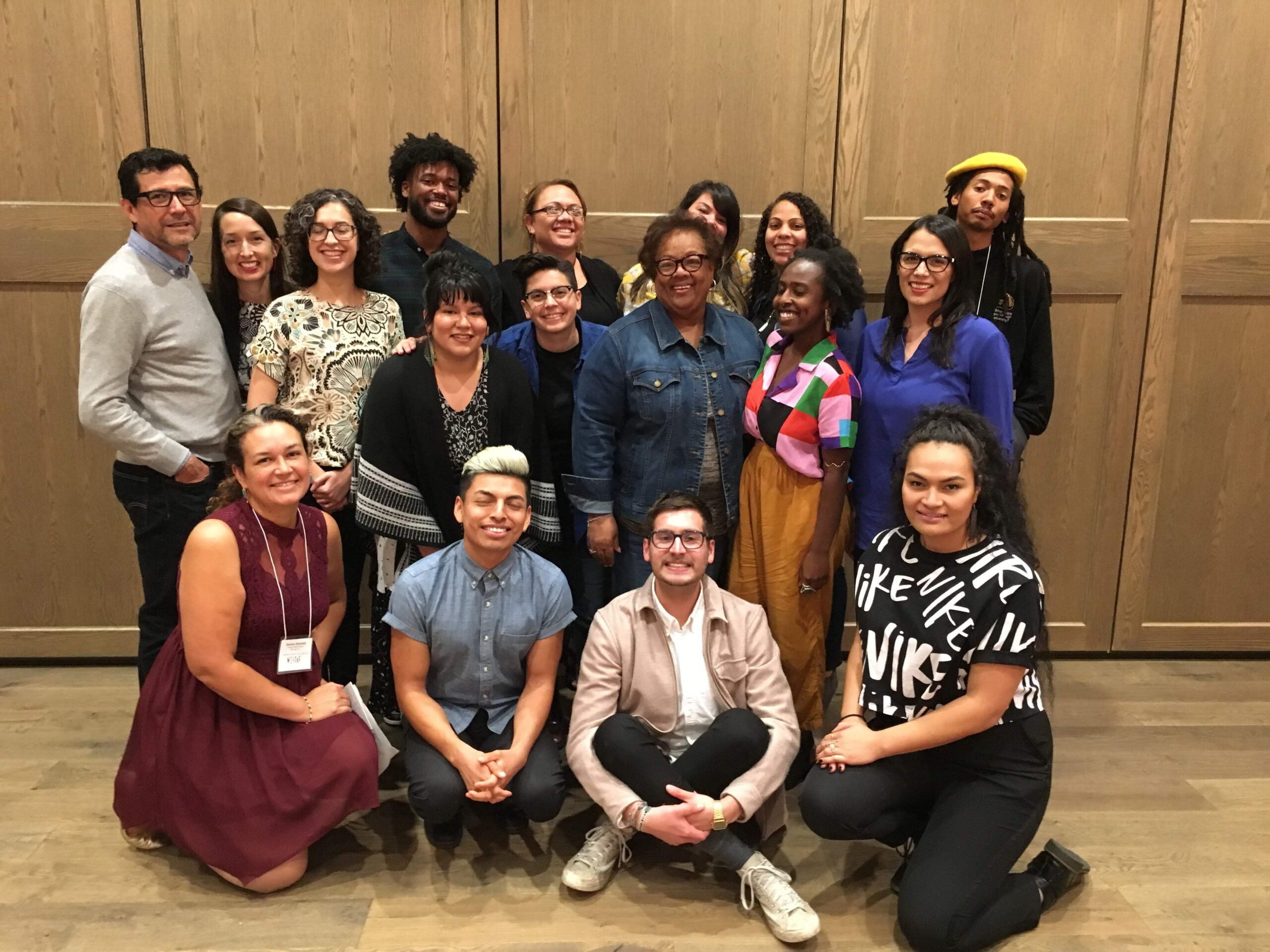 Emerging Leaders of Color cohort group photo from 2018
